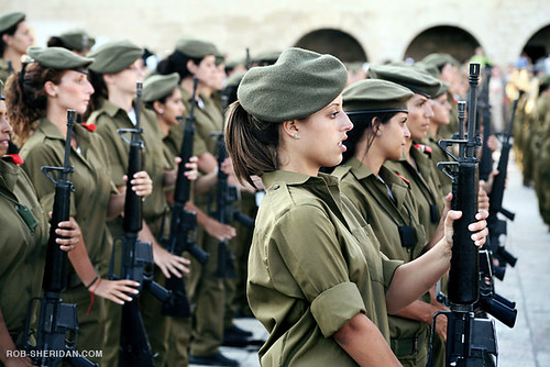 Female Recruits In The Israeli Army | by Rob Sheridan