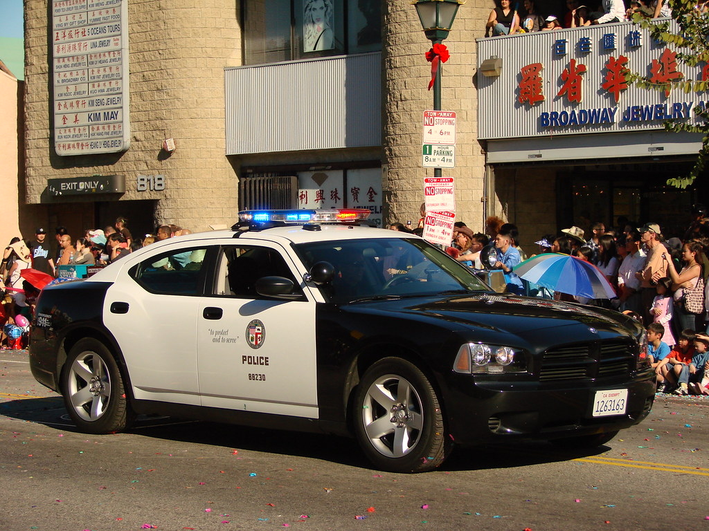 Lapd Police Car The Year Of The Rat Chinese New Year Par