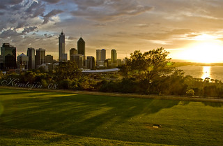 First light over Perth | by kimtojin