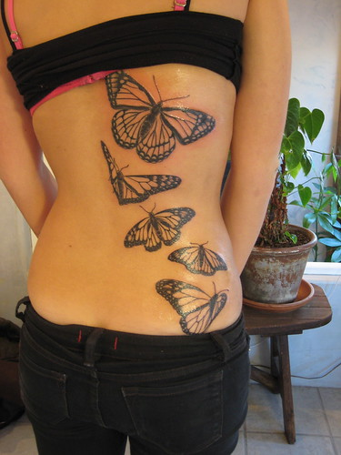 Monarch Butterfly Tattoo | by Shannon Archuleta