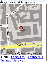 locify show my location gmaps
