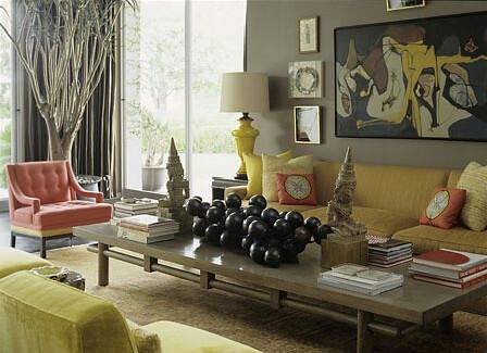 Mustard Living Room Chair