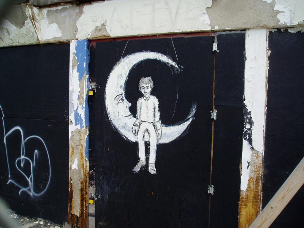 moon boy   More graffiti.   Joel Kramer   Flickr
