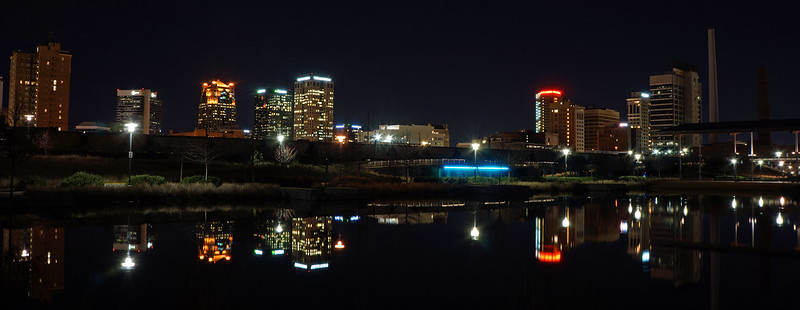 Birmingham from Railroad Park