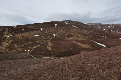 Carn Liath from Creag a' Chat