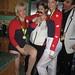 Bela Karolyi and Gymnasts