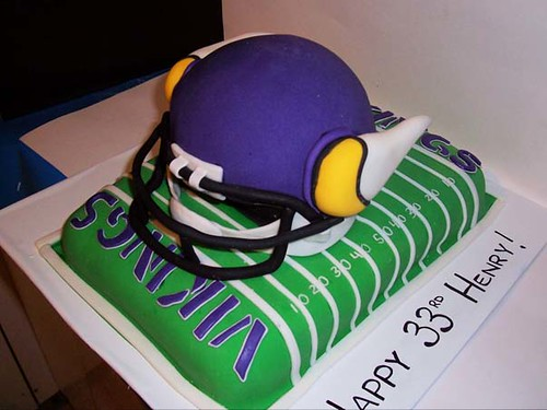 Vikings Cake Viking Football Themed Cake For A Birthday
