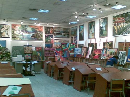 Modern High School Dubai Art Room | ajay_abr | Flickr