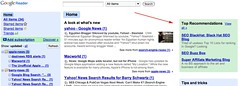 Google Reader Recommendations | by rustybrick
