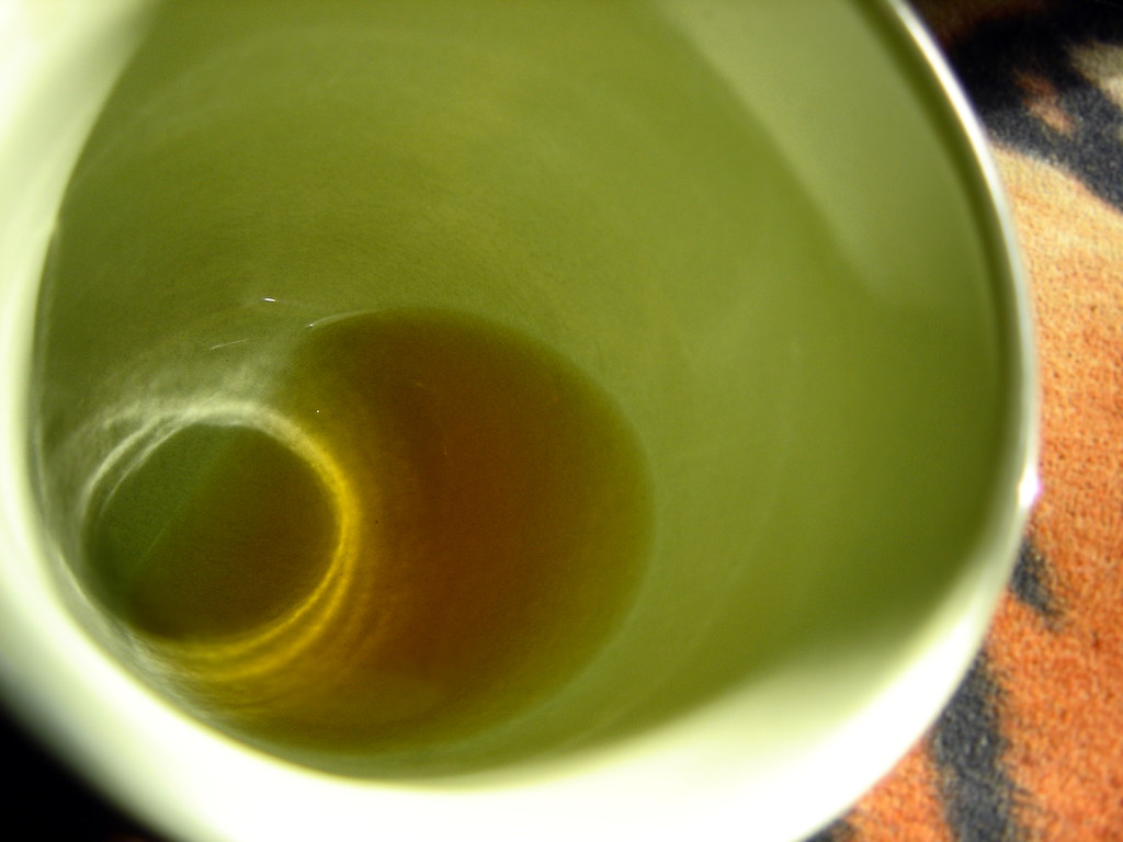 Drinking Green Tea Affecting Weight Lifting