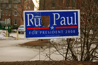 """Ru Paul for President 2008"" 