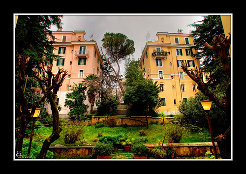 Roma monteverde vecchio giardino condominiale danilo - Giardino condominiale ...