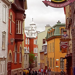 Quebec City - Upper Town Street