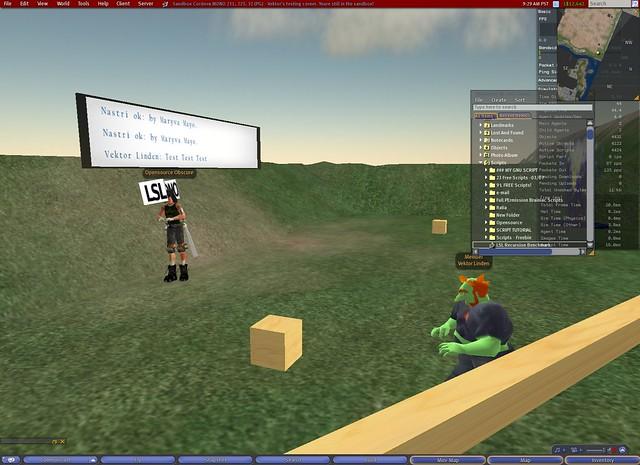 Vektor Linden testing Mono on the Beta Grid