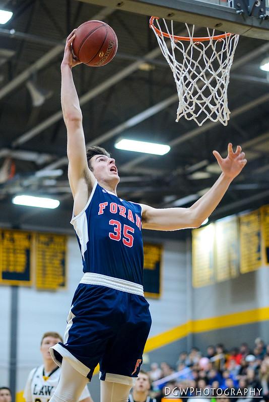 Foran High vs. Jonathan Law - High School Basketball