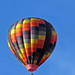 Multicoloured Hot Air Balloon