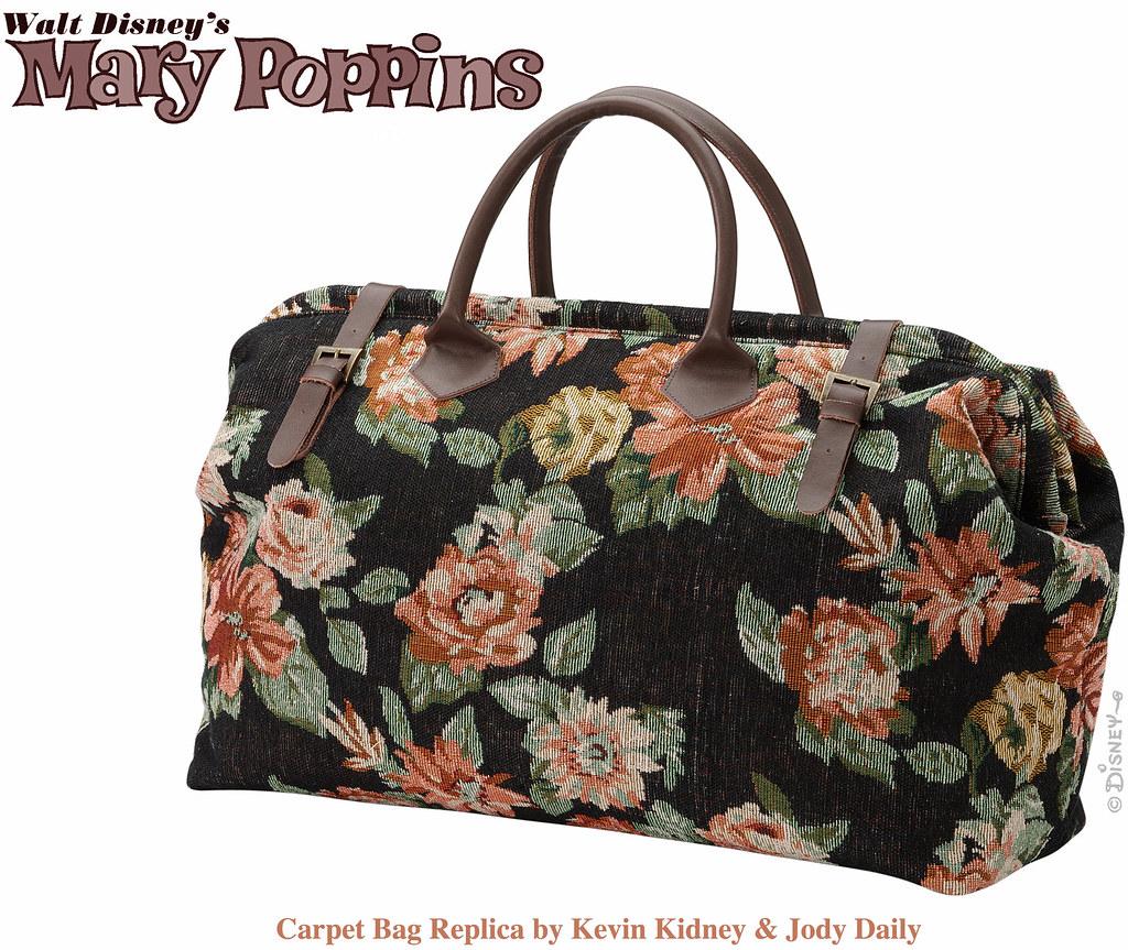 Mary Poppins Carpet Bag Mary Poppins Carpet Bag Designed