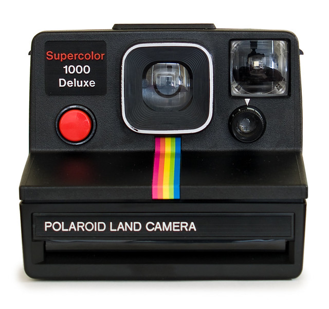 polaroid supercolor 1000 deluxe front flickr photo sharing. Black Bedroom Furniture Sets. Home Design Ideas