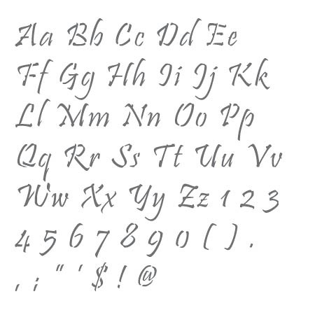 cc0056 pristina alphabet stencils by sannhardy