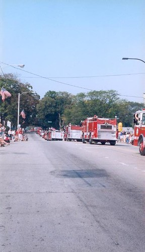 Barrington (IL) Fire Department Centennial | by Barrington Area Library Local History