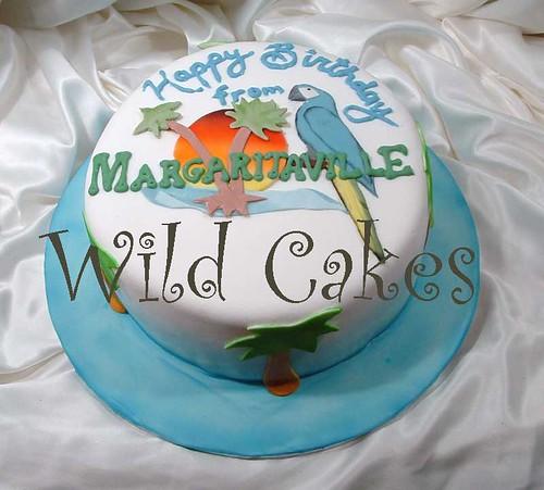 Margaritaville Cake Decorations