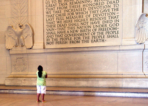 Lincoln memorial text | by Wolfrage