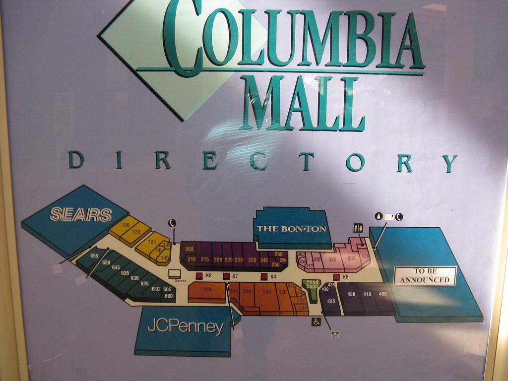 Columbia Mall - Buckhorn (Bloomsburg) PA | Their Mallmanac ...