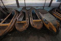 Spreepark: Decaying Boats