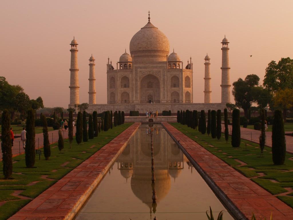Asia India Agra Taj Mahal
