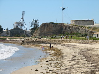fremantle beach and round house | the round house, top
