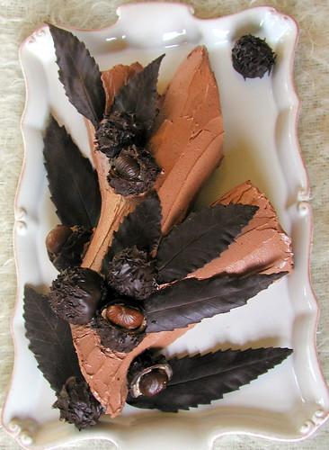 Chocolate And Chestnut Cake Nigella