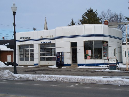 OH New Washington - Gas Station | Old service station in ...