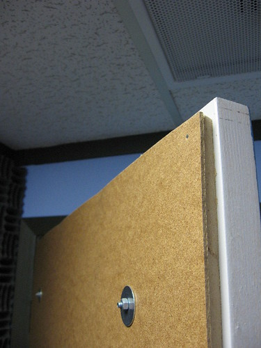 Kdrt Studio Door Masonite Bolted And Tacked Onto Quot Sound