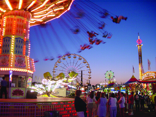 Minnesota State Fair - Midway at dusk | by meetminneapolis