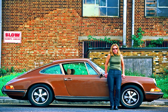 sarah cracknell sarah cracknell and her porsche 911 of t flickr. Black Bedroom Furniture Sets. Home Design Ideas
