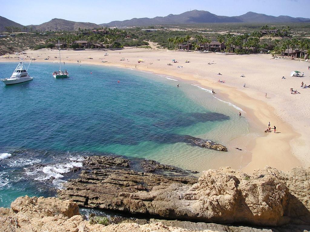 Beachside image of Santa Maria Bay Top 10 Hidden Gems in Los Cabos