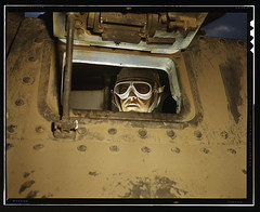 Tank driver, Ft. Knox, Ky.  (LOC) | by The Library of Congress