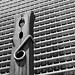It's the building that's miniature: Philadelphia's Clothespin by Jack Wolgin