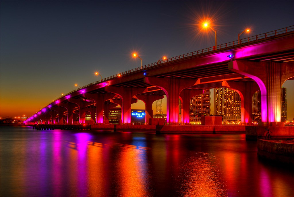 ... Miami Lights | by Thad Roan - Bridgepix & Miami Lights | Thank you Claudia (Fraggle Red) for showing mu2026 | Flickr azcodes.com