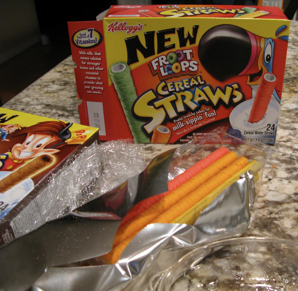 Kellogg's Froot Loops Cereal Straws