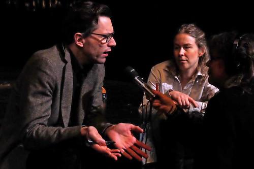 Pontus Plænge och Caroline Harrysson