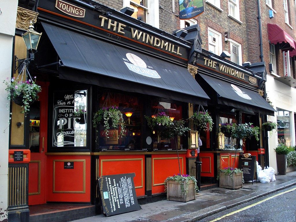 The windmill mayfair london w1 young 39 s pub in mayfair for The mayfair