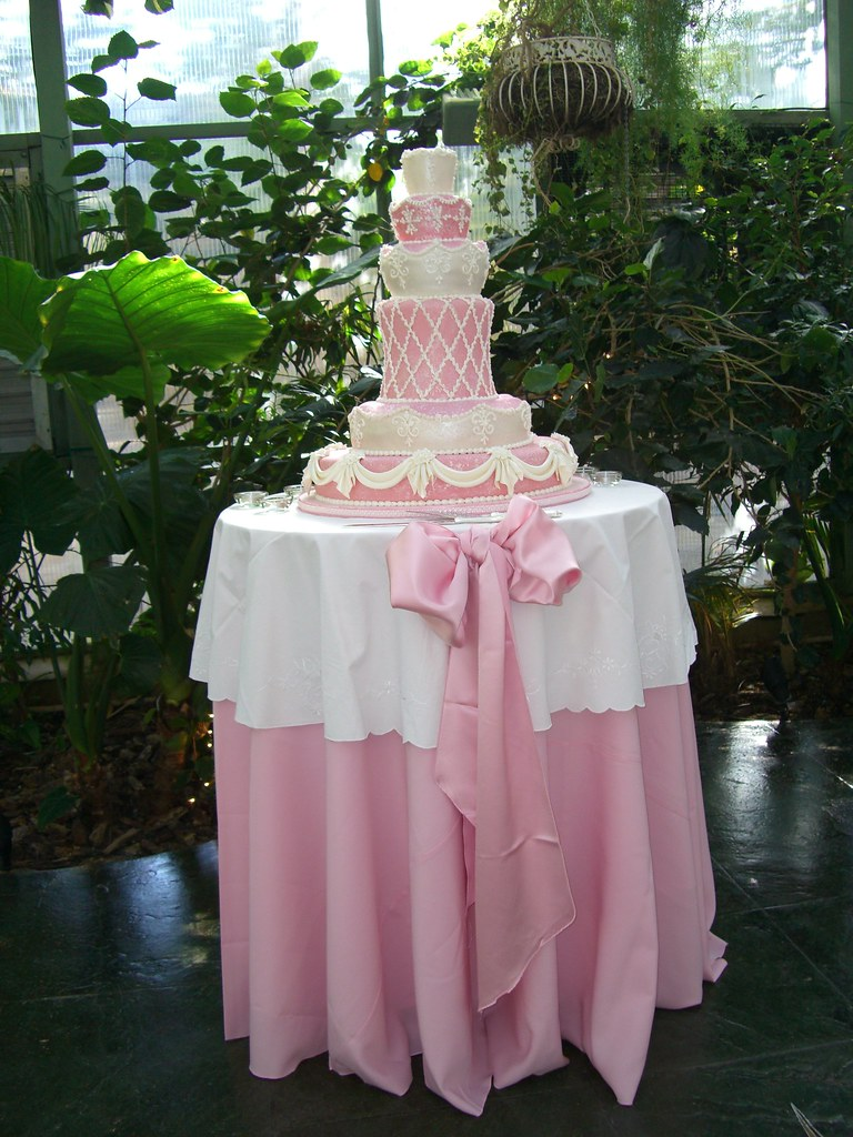 decorating wedding cake table blush pink wedding cake table runolfson flickr 13419