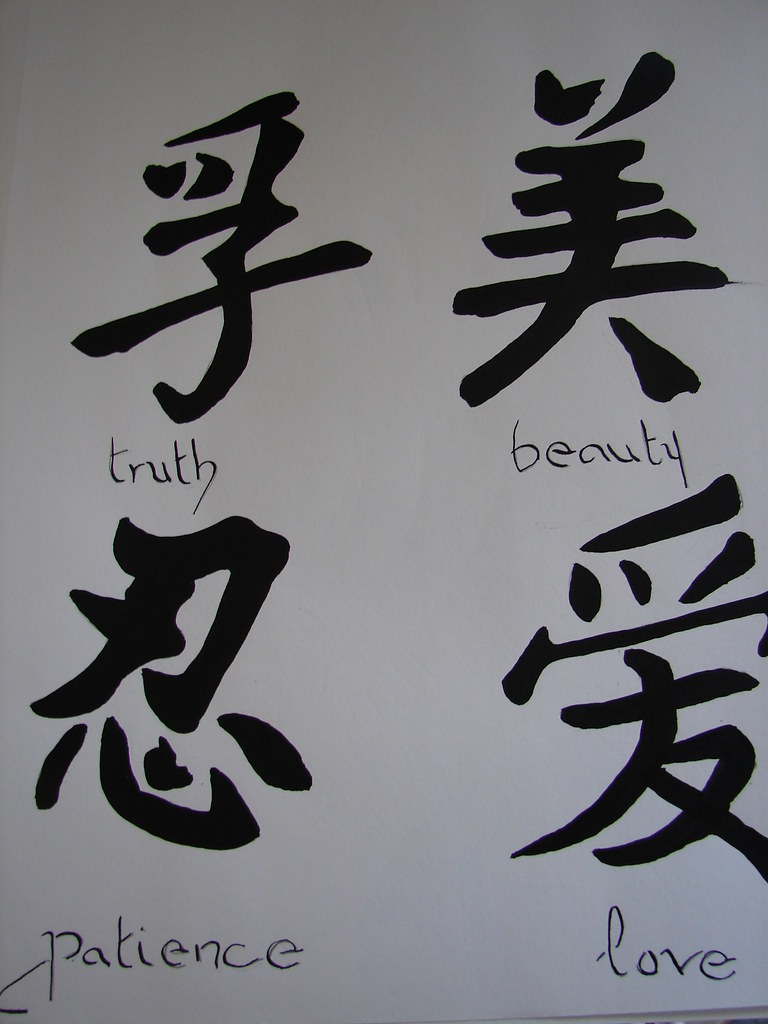 Chinese Symbols What Do You Think Sarah Wichels Flickr