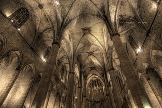 The Nave of the Santa Maria Del Mar | by Doug Mo (Gone Vagabonding)