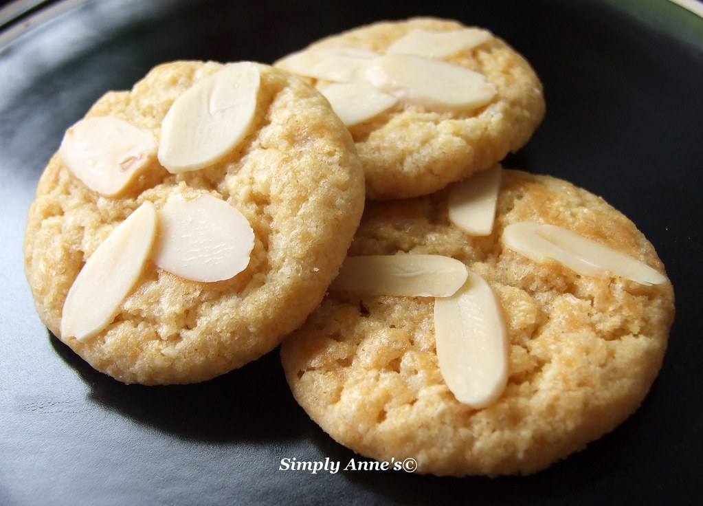 Almond Cookies | simply anne | Flickr