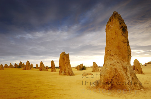 Pinnacles desert, Western Australia | by scott photos