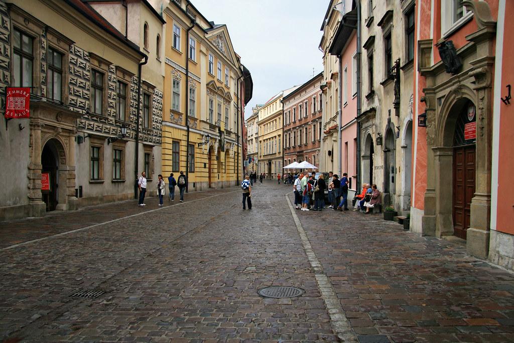 Kanonicza Street Krakow Poland The Late Great Pope