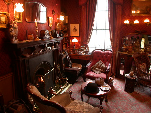 sherlock holmes living room sherlock living room jason h flickr 16918