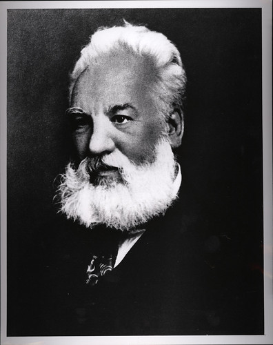 Portrait of Alexander Graham Bell (1847-1922), Engineer | by Smithsonian Institution